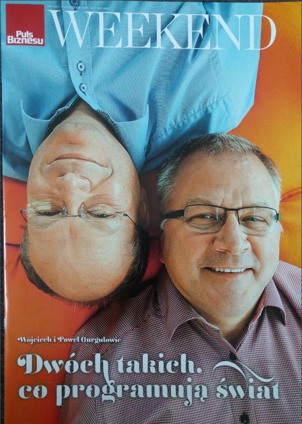 PGS Software founders - Wojciech & Paweł Gurgul.